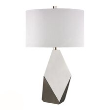 """HGTV Home 28.75"""" H Table Lamp with Drum Shade"""