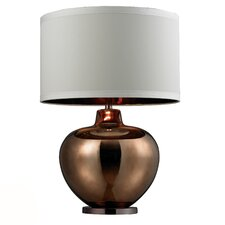"""HGTV Home 30"""" H Table Lamp with Drum Shade"""