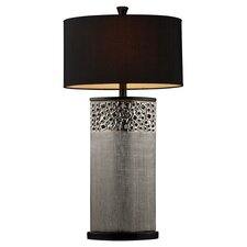 "Bellevue 31"" H Table Lamp with Drum Shade"