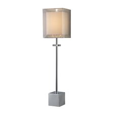 "Sligo Buffet 30"" H Table Lamp with Square Shade"