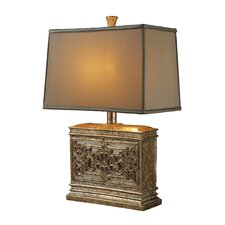 "Laurel Run 25"" H Table Lamp with Rectangle Shade"
