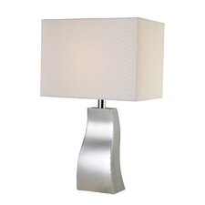 "Trendsitions Keyser 18"" H Table Lamp with Rectangle Shade"