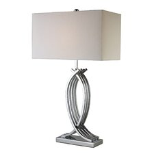 "Trendsitions Gransha 29"" H Table Lamp with Rectangle Shade"
