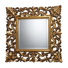 Barrets Mirror in Beaufort Gold
