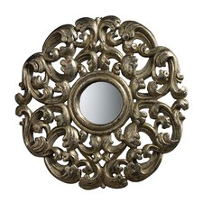 <strong>Dimond Lighting</strong> Lanne Mirror in Blackwood Silver