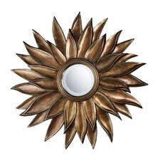 <strong>Dimond Lighting</strong> Prentiss Mirror in Stonyford Gold