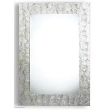 Tolka Quay Mirror in Mother of Pearl