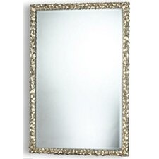 "<strong>Dimond Lighting</strong> 45"" Emery Hill Mirror in Silver Leaf"