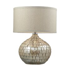 "Canaan 25"" H Table Lamp with Drum Shade"