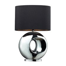 "Tobermore 25"" H Table Lamp with Drum Shade"