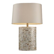 "Trump Home Sunny Isles 27"" H Table Lamp with Drum Shade"