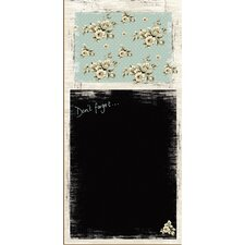 Katie Alice Cottage Flower Memo Board
