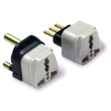 Lewis N. Clark South Africa Grounded Adapter Plug