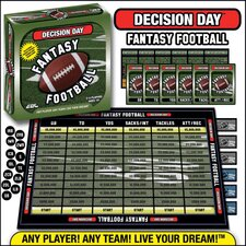 Decision Day Fantasy Football Trading Card Board Game