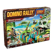 Domino Rally Pirate Skull Island Game