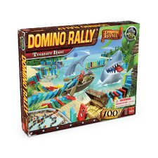 Domino Rally Pirate Treasure Hunt Game