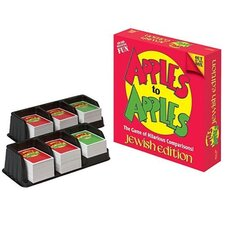 <strong>Jewish Educational Toys</strong> Apples to Apples Jewish Edition Board Game