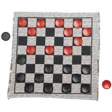 <strong>Multiflex Designs</strong> Jumbo Checker Rug Game