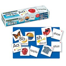 <strong>Patch Products</strong> Beginning Sounds Wall Pocket Chart Card Set