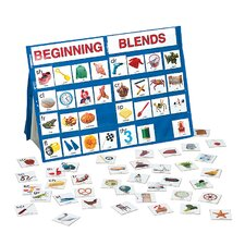<strong>Patch Products</strong> Beginning Blends Tabletop Pocket Chart