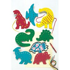 <strong>Patch Products</strong> Lacing & Tracing Dinosaurs 7/pk