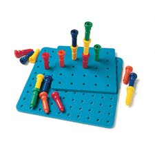 Tall-stacker Pegs & Pegboard 25
