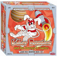Killer Bunnies Jupiter Laser Red Booster Games