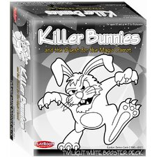 <strong>Playroom Entertainment</strong> Killer Bunnies Quest Booster Deck Game in White