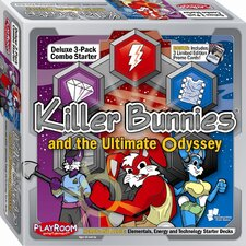 Killer Bunnies Odyssey Heroic and Azoic Combo Starter Game