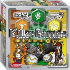 <strong>Playroom Entertainment</strong> Killer Bunnies Odyssey Lively and Spry Combo Starter Game