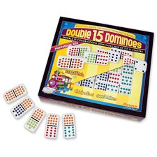Double 15 Dominoes Game