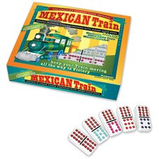 Double 12 Dominoes Mexican Train Set