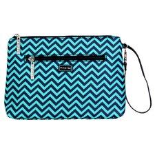 Wiggly Stripes Ocean Diaper Bag