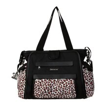 Black / Safari Cheetah Shoulder Bag