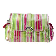 Jazz Stripes Ruby Satchel