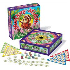 Family Games Monkey in the Middle Board Game