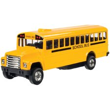 Pull Back School Bus Toy