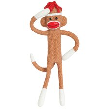 Bendable Sock Monkey