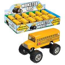 Large Die Cast School Bus