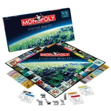 Planet Earth Monopoly Game