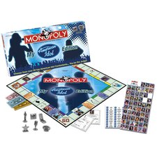 My American Idol Collector's Edition Monopoly Game