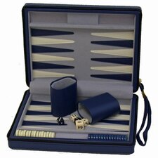 Travel Magnetic Backgammon in Blue