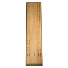 <strong>Wood Expressions</strong> Two Track Competition Cribbage Board