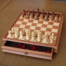Chess / Checkers Set in Camphor