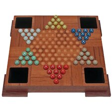 Chinese Checkers Set with Marbles