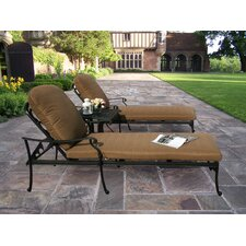 <strong>Oakland Living</strong> Hampton 3-Piece Chaise Lounge Set