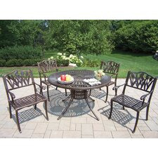 <strong>Oakland Living</strong> Sunray Tulip 5 Piece Dining Set