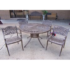<strong>Oakland Living</strong> Sunray Mississippi 5 Piece Dining Set