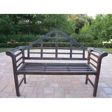 <strong>Oakland Living</strong> King Louis Aluminum Garden Bench
