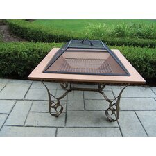 Victoria Fire Pit with Grill